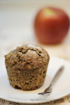 Mis recetas favoritas: Muffins de avena y manzana