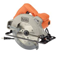 This Black & Decker circular saw is equipped with a powerful motor, ideal for most cutting applications. The laser guide helps to ensure cut accuracy...