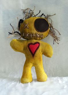 Handmade Voodoo Doll Kev  Ships from London by MoodyVoodies, $44.99