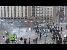Proteste in Frankreich: Jugendlliche liefern sich erneut Straßenschlachten mit der Polizei — RT Deutsch