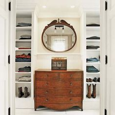 Designing closets? Consider building around a handsome dresser to add style, as well as function. | Photo: Julian Wass | thisoldhouse.com