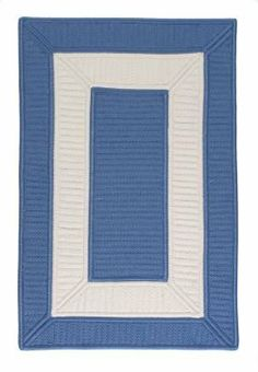 """Colonial Mills Collection 14 Cb95 2'3"""" x 3'10"""" Blue Ice / White Area Rug by Colonial Mills. $132.00. Collection 14 CB95 blue ice / white rug by Colonial Mills Inc Rugs is a braided rug made from synthetic. It is a 2 x 4 area rug rectangular in shape. The manufacturer describes the rug as a blue ice / white 2'3"""" x 3'10"""" area rug. Buy discount rugs with Buy Area Rugs .com SKU cb95r027x046s