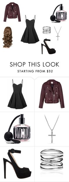 """Untitled #23"" by kelsey-turk on Polyvore featuring Glamorous, Reiss, Victoria's Secret, David Yurman and Prada"
