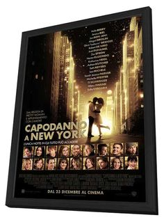 New Year's Eve (Italian) 11x17 Framed Movie Poster (2011)