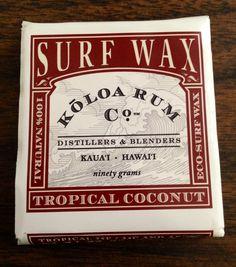 Koloa Rum Coconut Surf Wax