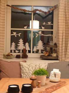 Fensterdeko Winter - New Ideas Christmas Angels, Winter Christmas, All Things Christmas, Christmas Holidays, New Years Decorations, Christmas Decorations, Diy And Crafts, Christmas Crafts, Scandinavian Christmas