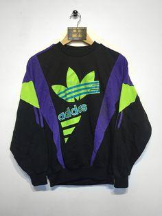 Adidas sweatshirt Size Small £36   Website➡️ www.retroreflex.uk  #adidas #trefoil #oldschool