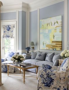 Grey and Light Blue Living Room. 20 Grey and Light Blue Living Room. Love This Light Blue Living Room Blue And White Living Room, Home Living Room, Living Room Color, Interior, Blue Rooms, White Decor, Home Decor, Blue White Decor, Interior Design