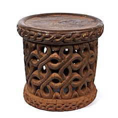 vintage african stool african style furniture