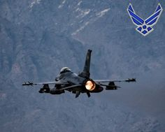 U.S. Air Force F-16 Fighting Falcon, assigned to the 455th Expeditionary Fighter Wing, takes off from Bagram Airfield, Afghanistan in support of Operation Freedom's Sentinel.