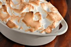 RECIPE | Paula Deen's Southern Baked Banana Pudding with Meringue Topping.. My grandmother taught me this recipe.. Another hitting the smith household... This is truly southern y'all