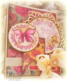 Betty Wright: Crafting with Betty: Thanks So Much! Crazy 4 Challenges and some Great News! - 5/12/12.  (Verve products).