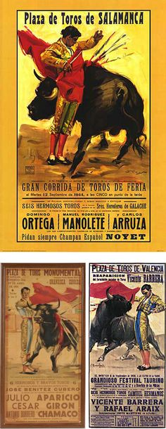 i have these posters hanging in my bedroom, from when i studied in spain