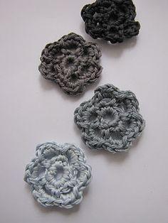 Crochet tutorial: Six -Petalled Flower