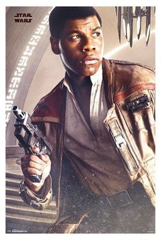 Trends International Star Wars The Last Jedi Finn Poster 34x22