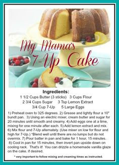 7 Up Pound Cake Recipe Soul Food.Cherry 7 Up Pound Cake Recipe Bundt Cakes Classic And . 7 Up Pound Cake Recipe Video Search Engine At Search Com. 7up Pound Cake, Pound Cake Recipes, 7 Up Cake, Eat Cake, Just Desserts, Delicious Desserts, Dessert Recipes, Retro Recipes, Vintage Recipes
