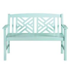 Home Decorators Collection Outdoor Bench in Hartford Sky #spring #homedepot