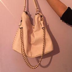 Prada Tessuto Shoulder Bag | Triangle Logo, Dark Tan and Prada Bag