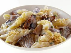 Mushroom Mac and Cheese recipe from Giada De Laurentiis via Food Network