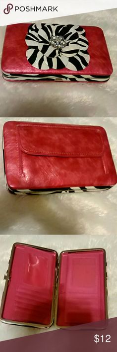 3574c7b8911 Flower Wallet This is adorable wallet. In excellent condition. Never did  use. Any