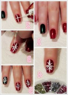Christmas Nail Art Best Tutorials 2016 Step By Step