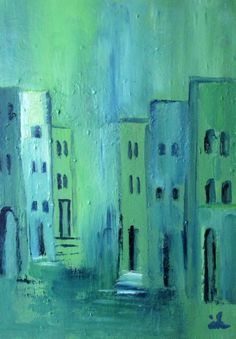 Buy Street in Turquoise, 4, Rovinj, Oil painting by Ingrid Knaus on Artfinder. Discover thousands of other original paintings, prints, sculptures and photography from independent artists.