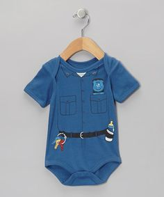 Designed to fit Baby in an officially adorable outfit, this sweet bodysuit mixes a humorous graphic with cozy comfort. The lap neck and snaps on bottom allow for easy changing in-between daring sessions of play.