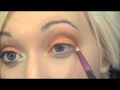 Peachy Keen Jelly Bean! Makeup Tutorial Cut Crease Eyeshadow, Hooded Eyes, Jelly Beans, Makeup Videos, Red Dates