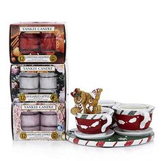 Yankee Candle Gingerbread T-Light Holder with 36 T-Lights