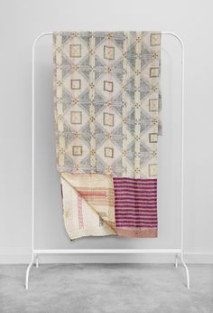Image of Kantha Quilt Wall Flower