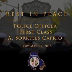 Law And Order, Thin Blue Lines, Rest In Peace, Police Officer, Maryland