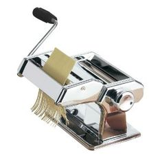 Premier Housewares Pasta Maker with Chrome Steel Body