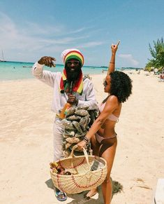 A Beach In Jamaica (Caribbean Island) Jamaica Vacation, Jamaica Travel, Bob Marley, Jamaica Culture, African Herbs, Jamaican People, Jamaica Reggae, Places To Travel, Places To Visit