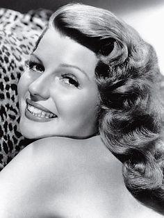 Top Beautiful Hollywood Actresses:  RITA HAYWORTH   In her 20's she was the sexiest woman I have ever seen on the screen