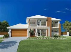 Panoramic Views & Prestigious Home, House and Land in Sunshine Coast South Home Design, Act Home, Facade House, House Facades, Sunshine Coast, Western Australia, Home Builders, Landscape Design, Shed