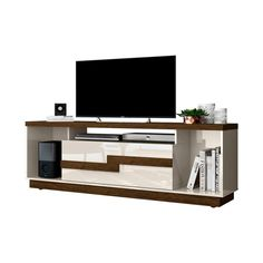 Mesa De TV Bia | Muebles TV | Alameda Racks Tv, Off White, O Gas, Flat Screen, Furniture, Design, Home Decor, Products, Townhouse
