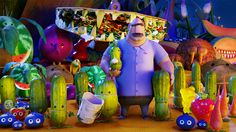 cloudy with a chance of meatballs movie scenes - Google Search