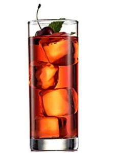 Italian Highball Glasses Clear Heavy Base Tall Bar Drinking Glass for Water, Juice, Beer, Wine, Whiskey and Cocktails 13 Oz. Whisky, Water Into Wine, Highball Glass, Drinking Glass, Voss Bottle, Glasses, Cocktails, Clean Design, Drinkware
