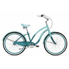 even a teal bike...