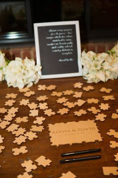 wedding guest book idea; photo: Connor Studios