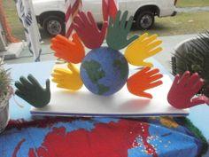 Dia de la Paz Colegio y Noviciado Santa Maria del Camino 2011 Crafts For Kids, Santa Maria, Puerto Rico, Carnival, School, Blue Prints, Manualidades, Celebrations, Drive Way