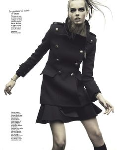 moooode: cora keegan and mina cvetkovic by henrique gendre for grazia france no.155 31st august 2012