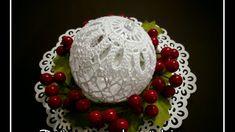 Christmas Bulbs, Christmas Decorations, Holiday Decor, Crochet Christmas, Ball Ornaments, The Creator, Videos, Tejidos, Bricolage