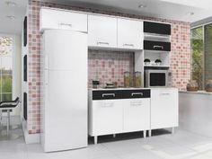 Cozinha Compacta Madine Móveis Lorena - 5 Portas - de R$ 564,00 por R$ 339,99  em até 6x de R$ 56,66 sem juros no cartão de crédito