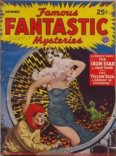 Famous Fantastic Mysteries, September 1943