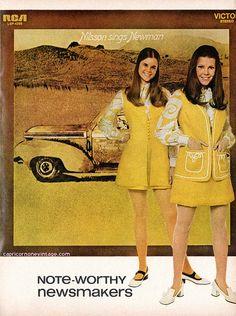 1970 teen magazine rca records promo with harry nilsson