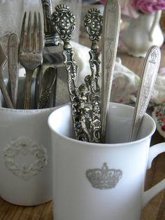 i heart vintage flatware!
