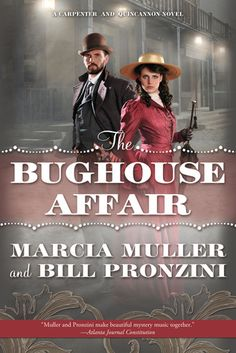 The Bughouse Affair -In this first of a new series of lighthearted historical mysteries set in 1890s San Francisco, former Pinkerton operative Sabina Carpenter and her detective partner, ex-Secret Service agent John Quincannon, undertake what initially appear to be two unrelated investigations