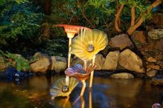 Blown-glass art in the garden | OregonLive.com