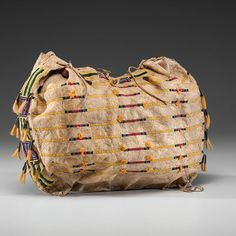Cheyenne Beaded Hide Possible Bag Property of the Solon Historical Society (9/26/2014 American Indian: Live Salesroom Auction)